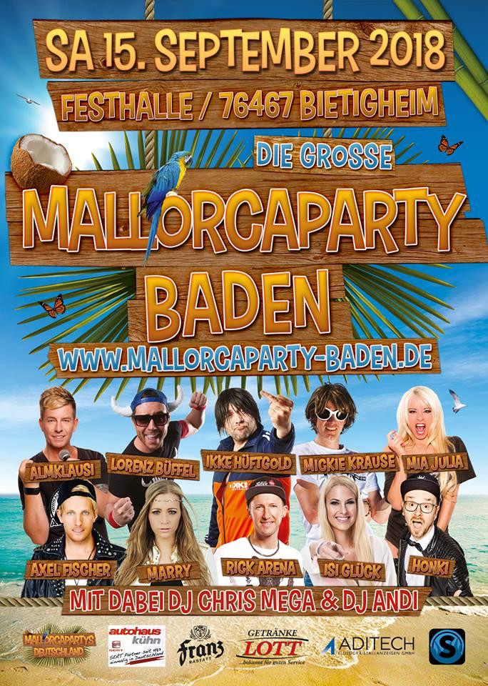 Mallorca Party Baden
