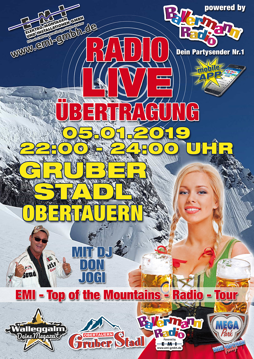 Ballermann Radio on Tour